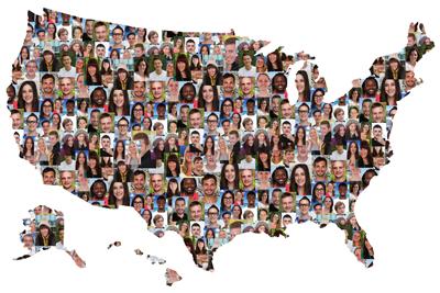US Diversity Map