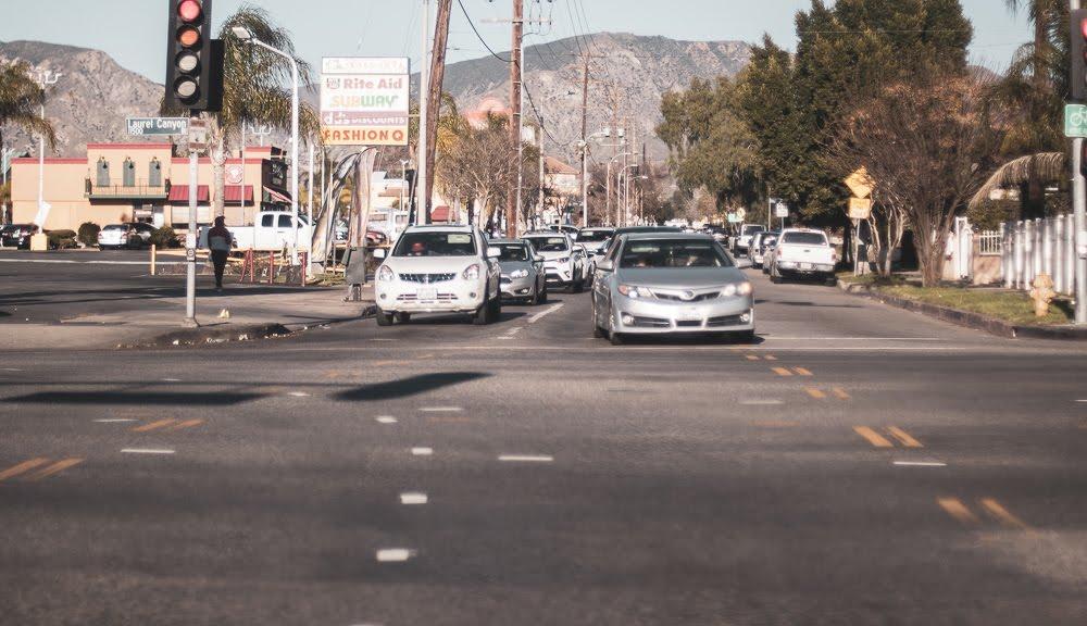 Las Vegas NV - Crash with Injuries at Sahara Ave & Decatur Blvd