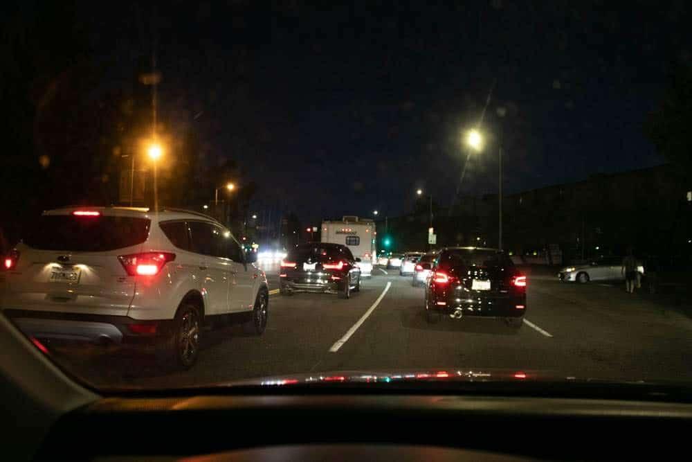 Las Vegas NV - Three Injured in Auto Crash on Oso Blanco Rd