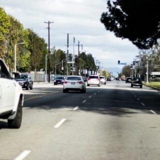 Paradise NV - Injury Crash at Flamingo Rd & McLeod Drive