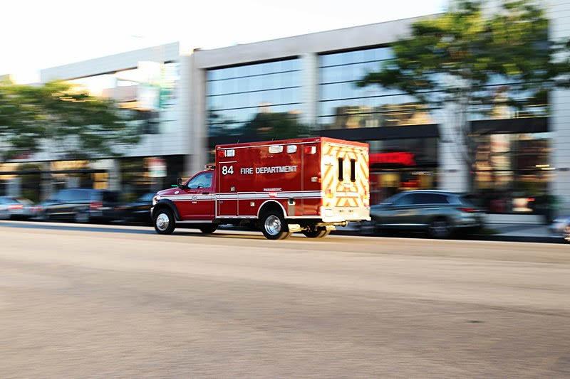 Sunrise Manor NV - Crash With Injuries at Sahara Ave & Treeline Dr
