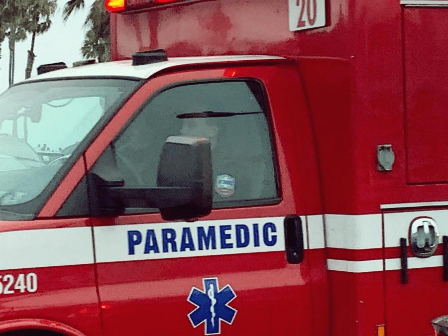 Las Vegas NV - Crash with Injuries at Nellis Blvd & Bonanza Rd