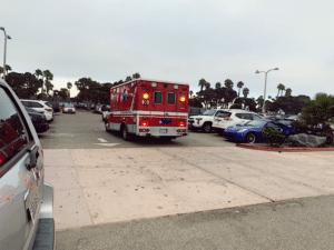 Las Vegas NV - Car Crash Causes Injuries at Messenger Court