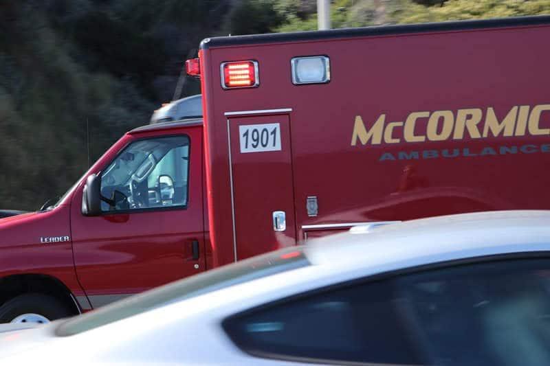 Las Vegas NV - Crash Causes Injuries at Stewart Ave & Page St