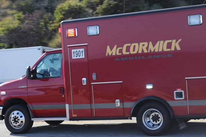 Las Vegas NV - Injury Crash at Bonanza Rd & Decatur Blvd