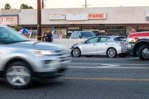 Las Vegas NV - Crash Causes Injuries at Nellis Blvd & Harris Ave