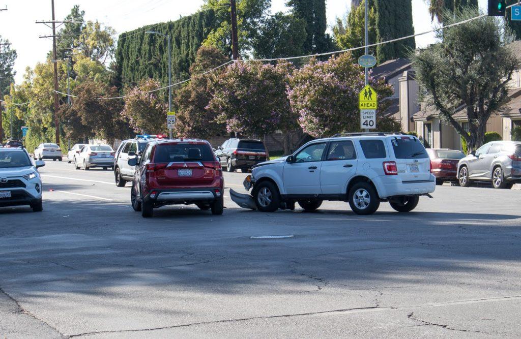 Las Vegas NV - Injuries Result from Car Crash at Racel St & Durango Dr