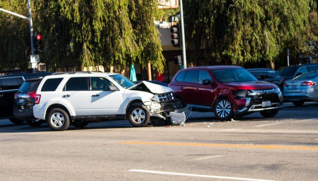 Las Vegas NV - Injury Crash at Decatur Blvd & Vegas Dr