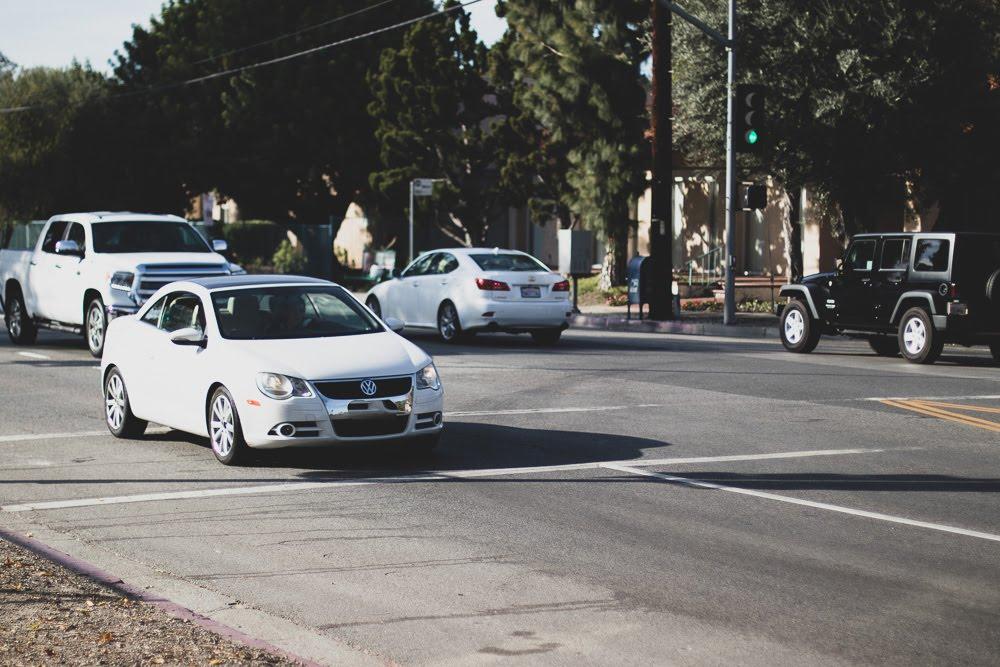 Sunrise Manor NV - Crash With Injuries at Stewart Ave & Nellis Blvd