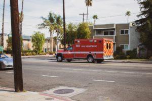 Las Vegas NV - Auto Wreck Causes Injuries at Bonanza Rd & Bruce St
