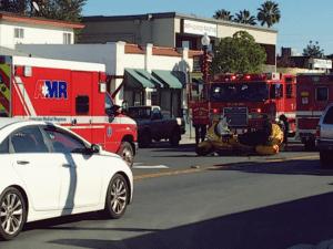 Santa Cruz CA - Motorcyclist Injured in Crash on 26th Ave & Portola