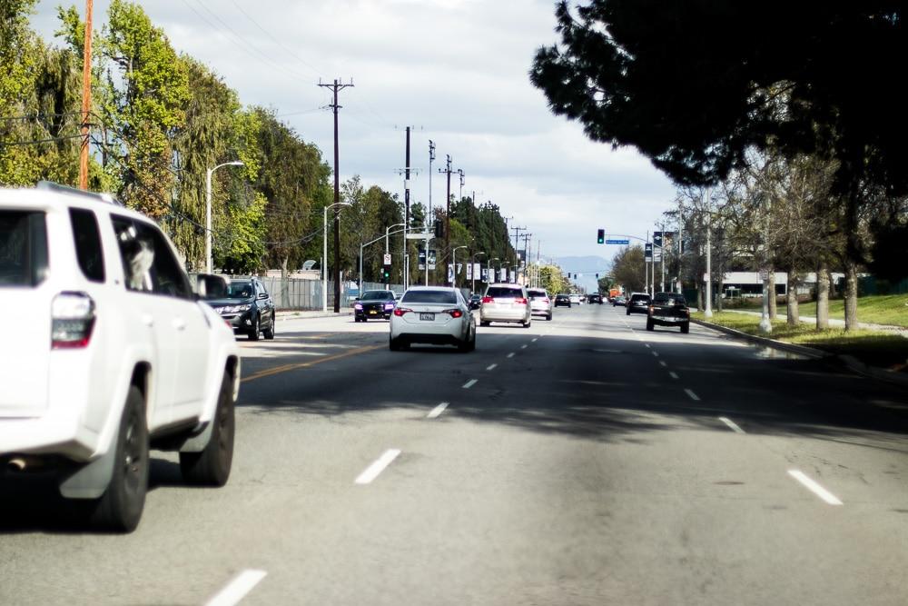 Las Vegas NV - Crash Causes Injuries at Torrey Pines Dr & Burgundy Wy