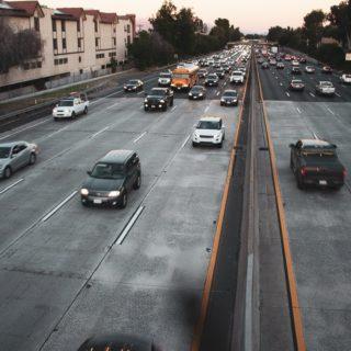 El Cajon CA - Multi-Car Crash With Injuries on I-8
