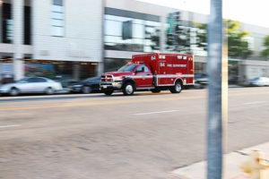 Sunrise Manor NV - Injury Accident at Lamb Blvd & Carey Ave