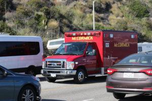 Las Vegas NV - Fatal Crash Takes One Life at Las Vegas Blvd Int