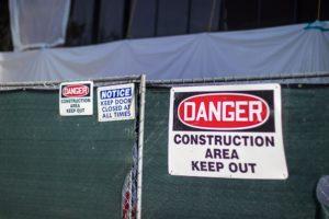 Las Vegas NV - Lift Accident Injures Worker at Allegiant Stadium