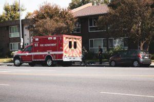 Paradise NV - Injury Crash at Wynn Rd & Twain Ave