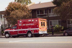 Paradise NV - Crash Causes Injuries at University Center Dr & Twain Ave